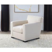 Jean Michel Frank Style Club Chair in Linato Cream