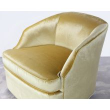 Aries Swivel Chair In Canary