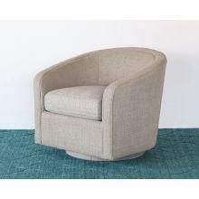 Modern Tub Chair With 360-Degree Swivel