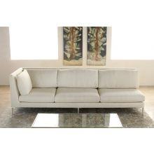 Left Arm Facing Sofa in Rafaelo Cream