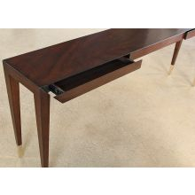Bullion Console Table in Espresso
