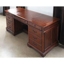 Weathered Cherry Executive Credenza