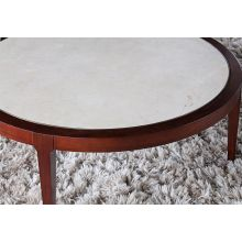 Mitchell Gold Reeve Round Cocktail Table