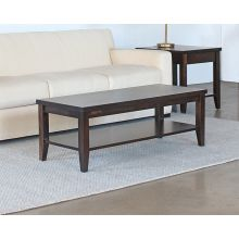Crawford Coffee Table with Shelf