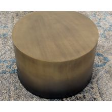 Antique Brass Ombre Coffee Table