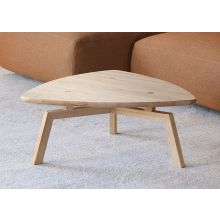 Triangular Coffee Table In Natural