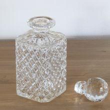 Diamond Cut Crystal Decanter