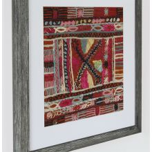 Burgundy Embroidery 3 20W X 20H - Cleared Decor