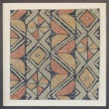 Bandu Kuba Cloth Design Textile 28W X 28H