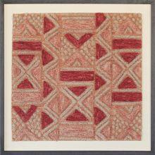 Bokila Kuba Cloth Design Textile 28W X 28H