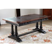 Tuscan Estates Trestle Desk
