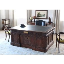 Reproduction of US President's Resolute Desk in Mahogany