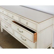 Vintage Ivory Dresser