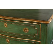 Chest of Drawers in Venetian Green