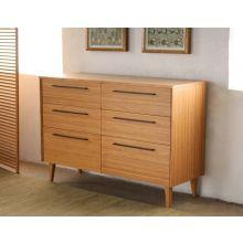 Sienna 6-Drawer Dresser in Caramelized Finish