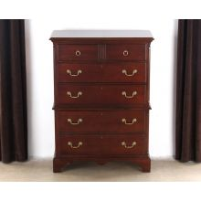 Madison Cherry 6 Drawer Chest of Drawers