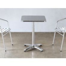 Stainless Steel Square Bistro Table