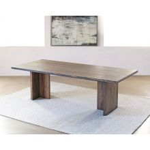 Alder Wood Plank Dining Table