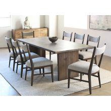 Alder Wood Plank Dining Table