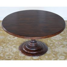 Magnolia Round Dining Table in Dark Oak