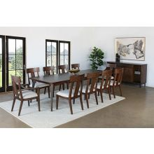 Pfeiffer Point Dining Table With Iron Legs