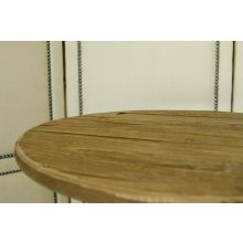 Clarie Side Table in Bleached Pine