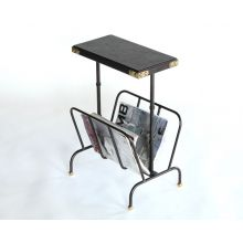 Bosco Side Table With Magazine Rack