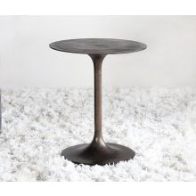 Tulip Side Table in Antique Rust
