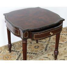 Merton Side Table -Trevisco Walnut Finish