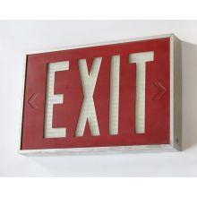 Cast Aluminum Exit Sign