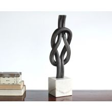 Infinity Standing Sculpture - Cleared Décor