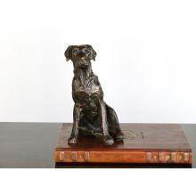 Bronze Labrador Retriever Figurine