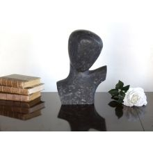 Black Marble Bust - Cleared Décor