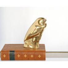 Brass Falcon Statue - Cleared Décor