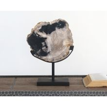 Petrified Wood Sculpture With Stand 2