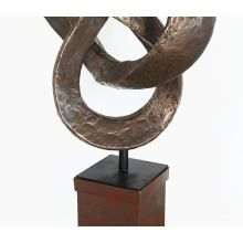 Bronze Trifoil Sculpture - Cleared Décor