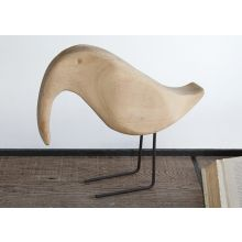 Bleached Bird Figurine - Cleared Décor