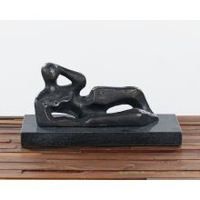 Reclined Bronze Figure --Cleared Art