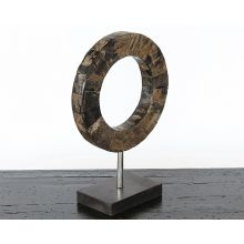 Small Ring Sculpture - Cleared Décor
