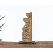 Medium Primitive Sculpture - Cleared Décor