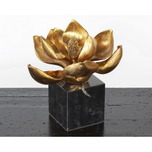 Gold Lotus Blossom - Cleared Décor
