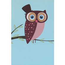 Owls Series I (Set of 2) 24W x 36H