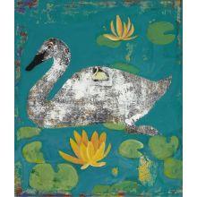Swan 24W x 28H