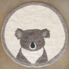 """Koala Rug In Light Stone/Natural 48""""W"""