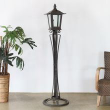 Iron Standing Outdoor Lantern