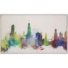 Prism Cityscape II 41.5W x 24.5W