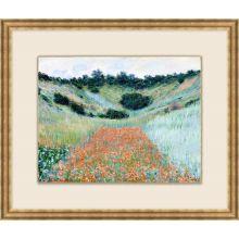 Poppy Field Near Giverny 26W X 22H
