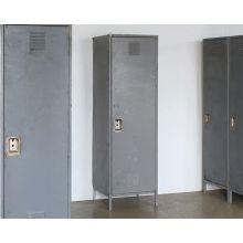 Simple Gray Precinct Locker