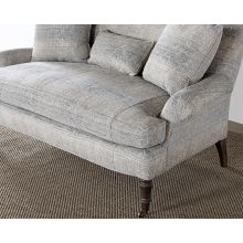 Nepal Mineral Loveseat In Pecan Finish