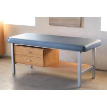Treatment Table with Upholstered Top and 2 Drawers